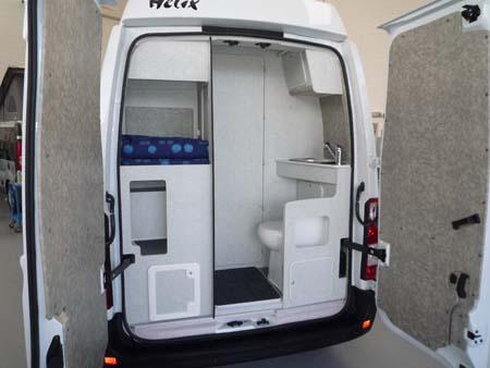 Helix camper presenta la novit stelvio 555 - Camper 4 posti letto ...