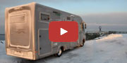 Il <b>Laika Kreos 8010</b> ha raggiunto Nordkapp in pieno inverno artico